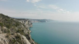 The cliffs of Monfalcone