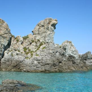 """Scoglio del Leone"" of ""Rock of the Lion"""